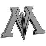 Fan Emblems Harry Potter Car Badge 3D Ministry of Magic Symbol (Black Chrome)