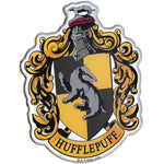 Fan Emblems Harry Potter Domed Chrome Car Decal - Hufflepuff Crest