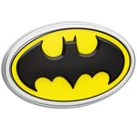 Fan Emblems Batman 3D Car Badge - 1989 Logo (Black, Yellow and Chrome)