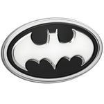 Fan Emblems Batman 3D Car Badge - 1989 Logo (Black and Chrome)