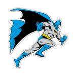 Fan Emblems Batman Car Decal, DC Comics Domed Classic Character Automotive Sticker Emblem, Easily Applies to Most Smooth Surfaces - Vehicles, Laptops, Cellphones, Windows, etc.