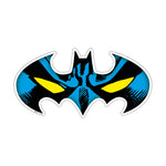 Fan Emblems Batman Car Decal, DC Comics Domed Character Mask Automotive Sticker Emblem, Easily Applies to Most Smooth Surfaces - Vehicles, Laptops, Cellphones, Windows, etc.