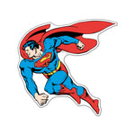 Fan Emblems Superman Classic Character Car Decal (Lensed Chrome Finish)