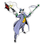 Fan Emblems The Joker Character Car Decal (Lensed Chrome Finish)