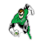 Fan Emblems Green Lantern Classic Character Car Decal (Lensed Chrome Finish)