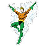 Fan Emblems Aquaman Classic Character Car Decal (Lensed Chrome Finish)