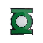 Fan Emblems Green Lantern Logo Car Decal (Lensed Chrome Finish)