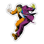Fan Emblems Two-Face Character Car Decal (Lensed Chrome Finish)