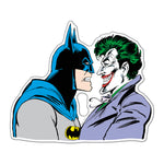 Fan Emblems Batman vs Joker Car Decal, DC Comics Domed Character Automotive Sticker Emblem, Easily Applies to Most Smooth Surfaces - Vehicles, Laptops, Cellphones, Windows, etc.