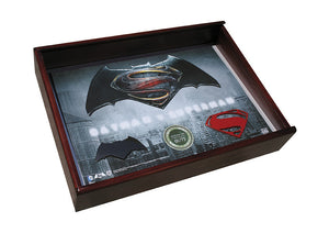 Limited Edition Batman v Superman Metal Collector Plaque