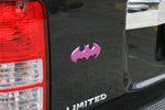 Fan Emblems Batman 3D Car Badge - 1989 Batwing Logo (Purple Pearl Chrome)