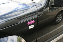 Batman Premium Purple Pearl Chrome Batwing Fan Emblem