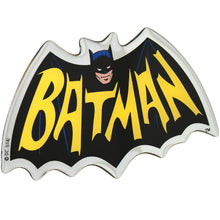 Fan Emblems Batman 1966 Logo Car Decal, DC Comics Domed Chrome Finish Automotive Sticker Emblem, Easily Applies to Most Smooth Surfaces - Vehicles, Laptops, Cellphones, Windows, etc.