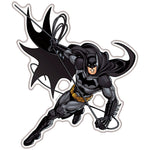 Fan Emblems Batman Domed Transparent Car Decal - Swinging Character