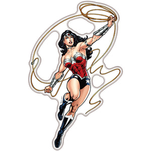 Wonder Woman Domed Character Car Decal