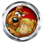 Scooby-Doo Scooby Shaggy Premium 3D Chrome Fan Emblem