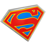 Fan Emblems Supergirl Car Badge, 3D Symbol (Chrome, Red, Blue, Yellow)