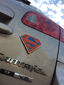 Supergirl Premium Chrome Fan Emblem (Colour/Chrome)