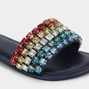 Anokhi  Crystal Stone- Sliders