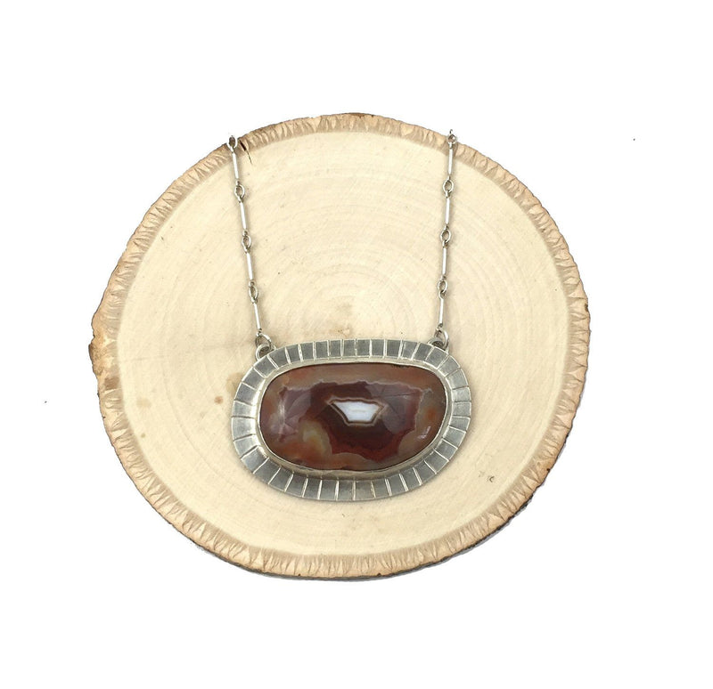 Lake Superior Agate Necklace