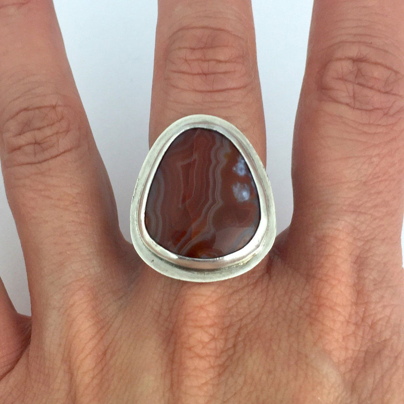 Lake Superior Agate ring