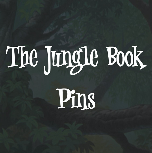The Jungle Book Pins