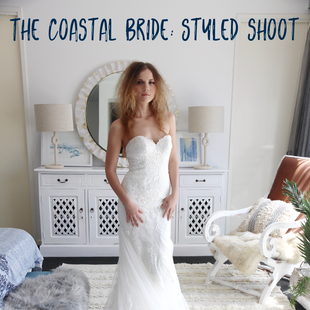 The coastal bride: Styled shoot