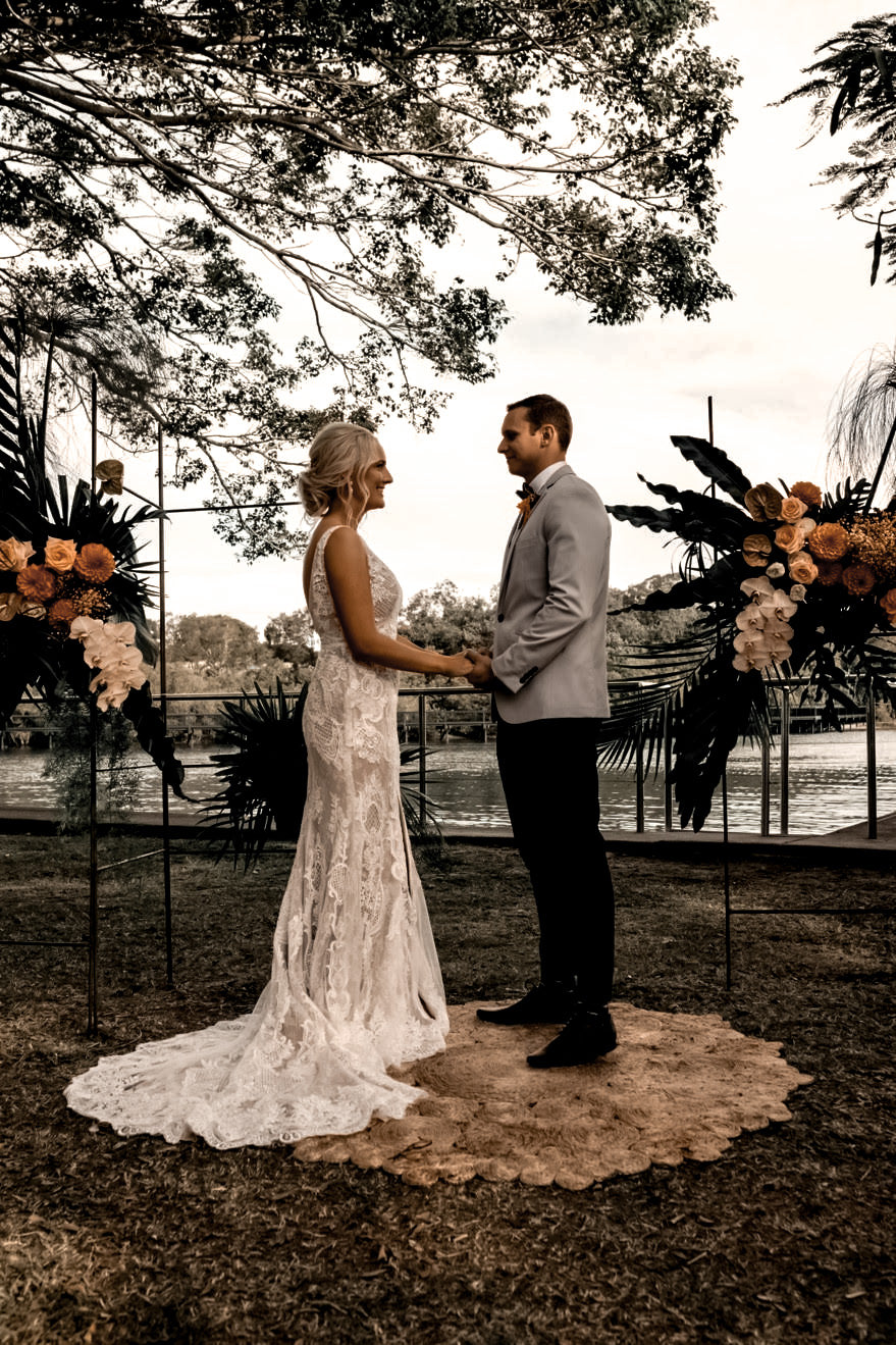 shop custom lace boho wedding dress