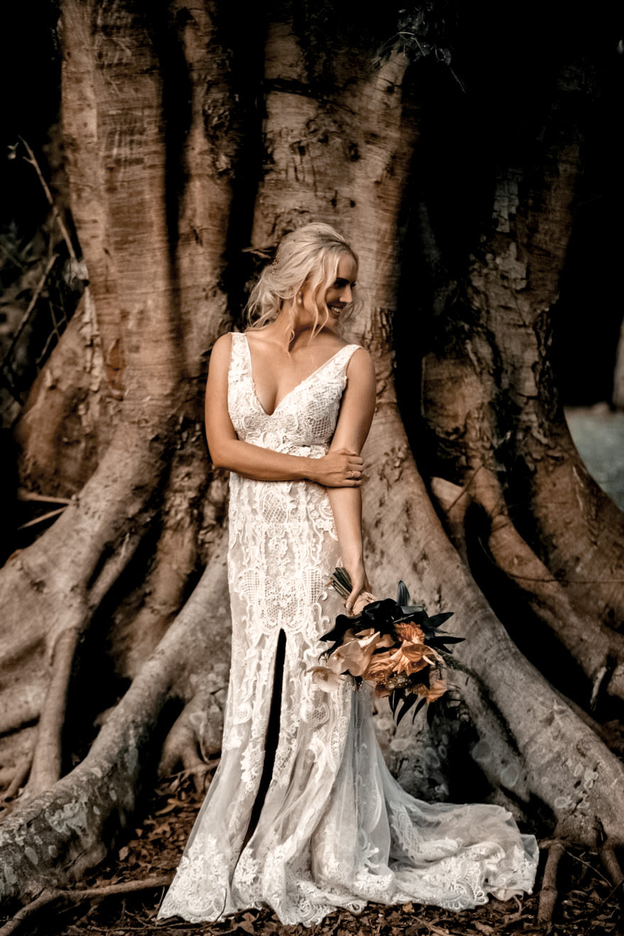 Buy boho wedding dress gold coast
