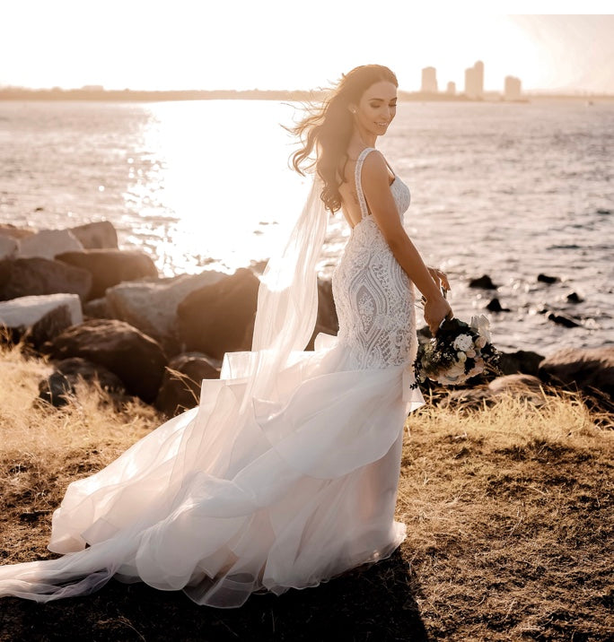 shop mermaid wedding gown