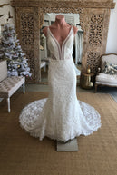 Paradise Ivory with sequins SIZE AU14