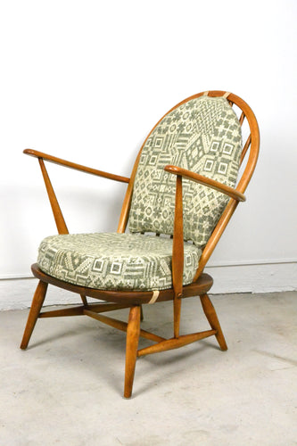 Mid century Ercol 305 Windsor Tub Armchair England restored, Edwin Fox Furniture Melbourne furniture sales and restoration service,