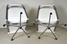 Load image into Gallery viewer, Eames Aluminium Group lounge chairs EA332 in white