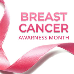 pink ribbon for breast cancer awareness month