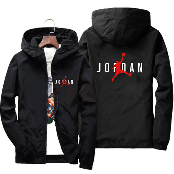 Jordan 23 Men's Jackets Printed Male Coats Fashion Streetwear Casual Windproof Bomber Jacket Winter Men 2019 Autumn Zipper Coats
