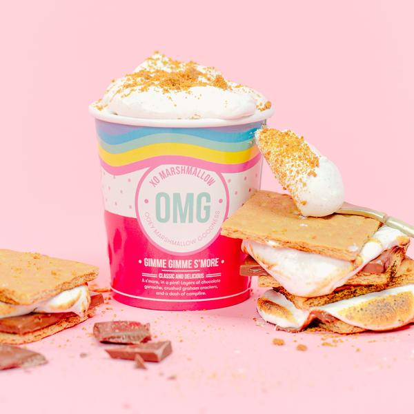 Gimme Gimme S'more OMG | Ooey Marshmallow Goodness