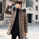 Winter thick men's cotton shirt Slim short cotton jacket students Large size 2020 new trend coat down cotton padded clothes