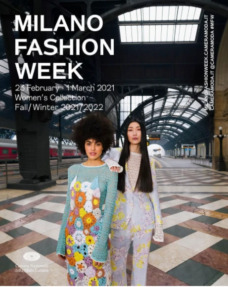 Milan Fashion Week 2021, from February 23th to March 1st