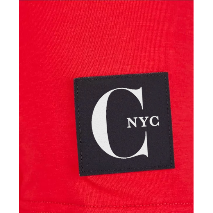 CHIC NYC MAN Red Basic T-Shirt