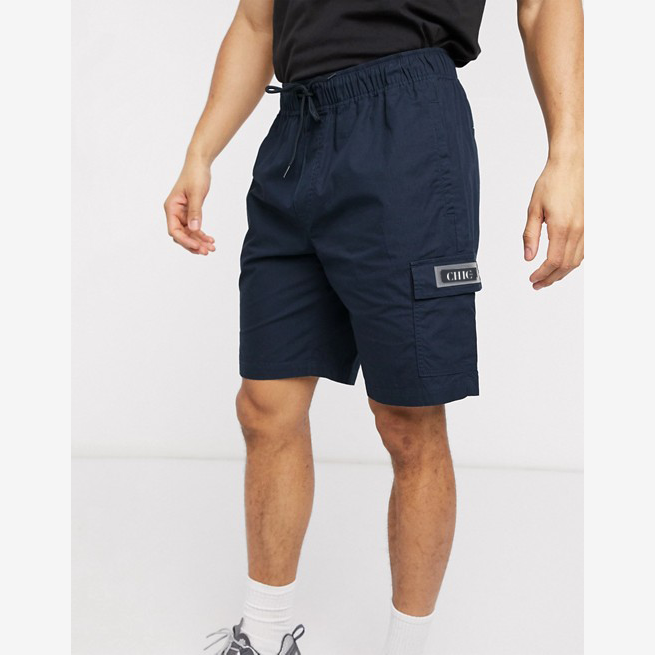 CHIC NYC MAN Casual Navy Cargo Short