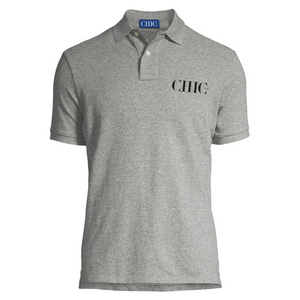 CHIC NYC Gray Polo Shirt
