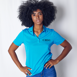 CHIC NYC Blue Performance Polo