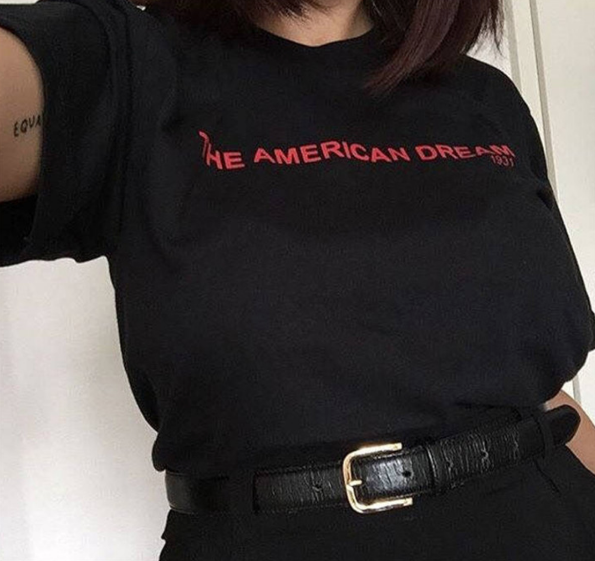 The American Dream - Custom Chic NYC Graphic T Shirt