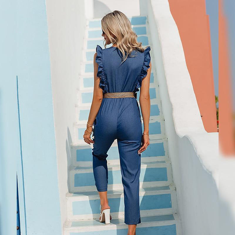 Blue Denim Jumpsuit 2021
