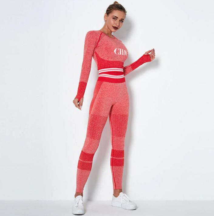 Chambers Red Activewear Set