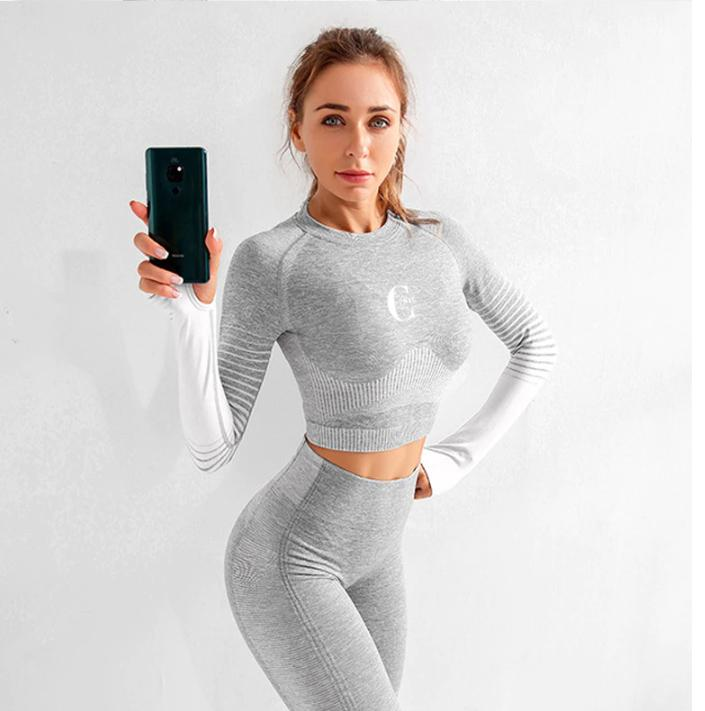 Spruce Grey Activewear Set