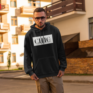 CHIC NYC MAN Black Basic Hoodie