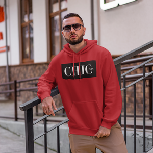 CHIC NYC MAN Red Basic Hoodie