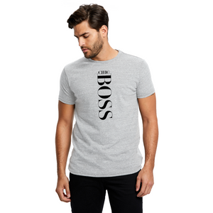 CHIC NYC MAN Limited Edition - Gray Boss T-Shirt