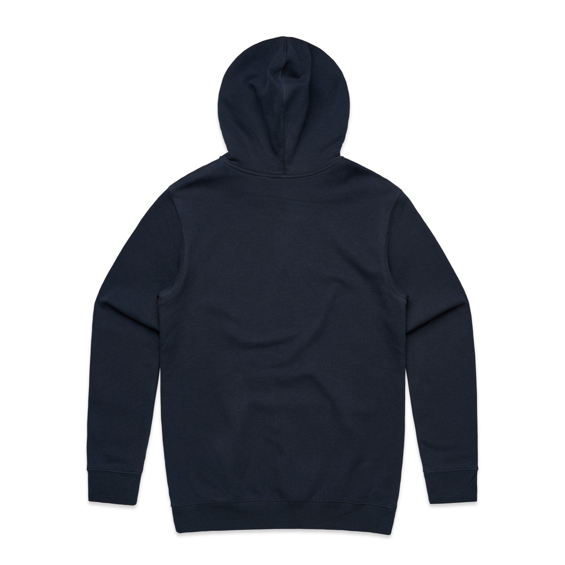 Navy Basic Hoodie with USA Flag